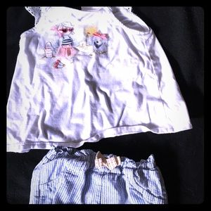 Other - Toddler girl summer outfit